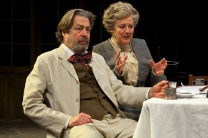 Roger Allam and Maggie Stead in Uncle Vanya © Pete Jones