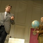 Roger Allam as Bernard and Mark Rylance as Robert in Boeing Boeing © Geraint Lewis