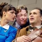 Daisy Beaumont as Gabriella, Roger Allam as Bernard and Mark Rylance as Robert © Geraint Lewis
