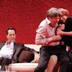 Michael Begley, Roger Allam and Zoe Waites © Clark Nobby