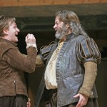 Jamie Parker as Prince Hal and Roger Allam as Falstaff in Henry IV Part I © John Haynes