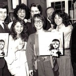 Roger Allam and cast at the release of the cast record © Royal Shakespeare Company