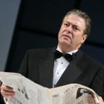 Roger Allam as Lambert Le Roux in Pravda © Shaun Webb