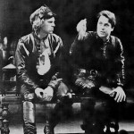 Simon Templeman as Romeo and Roger Allam as Mercutio © Donald Cooper