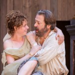 Jessie Buckley as Miranda and Roger Allam as Prospero in The Tempest © Marc Brenner