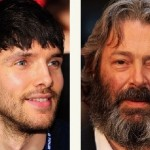 Colin Morgan and Roger Allam in The Tempest