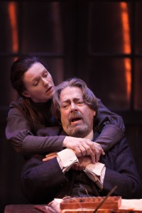 Dervla Kirwan and Roger Allam in Uncle Vanya © Johan Persson