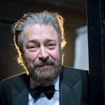Roger Allam backstage at the Olivier Awards, 2013 © Official London Theatre