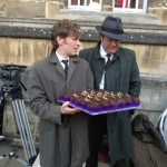 Shaun Evans and Roger Allam © Happy Cakes, Oxford