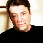 Roger Allam promo shot for ART, 1997