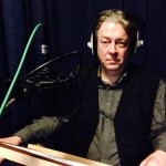 Roger Allam recording Churchill's Other Lives © Melissa FitzGerald (@Melissafitzg on Twitter)
