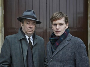 Roger Allam as Fred Thursday and Shaun Evans as Endeavour Morse © ITV / Mammoth Screen Ltd