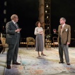 Roger Allam, Nancy Carroll, Nick Sampson and Paul Jesson in The Moderate Soprano © Hampstead Theatre / Manuel Harlan