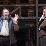 Roger Allam as Falstaff and Jamie Parker as Prince Hal in Henry IV Part I © Tristram Kenton / The Guardian