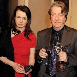 Emily Watson, Roger Allam and his Peter Sellers Award for Comedy, 2010 © London Evening Standard British Film Awards