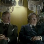 Nicholas Farrell and Roger Allam in The Iron Lady ©