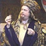 Roger Allam as Abbanazar in Aladdin © It's Behind You: The Story of Pantomime by Peter Lathan