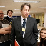 Vincent Franklin, Will Smith, Roger Allam and Olivia Poulet © BBC