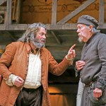 Roger Allam as Falstaff and William Gaunt as Shallow in Henry IV Part II © John Haynes / Digital Theatre