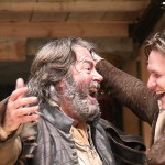 Roger Allam as Falstaff and Jamie Parker as Prince Hal in Henry IV Part I © Globe Player