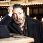 Roger Allam promoting The Tempest at Shakespeare's Globe, 2013 © The Independent