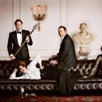 Roger Allam, Anna Chancellor, Kevin Spacey, Kristin Scott Thomas, Dan Stevens © Evening Standard