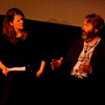 Hannah Patterson interviews Roger Allam (fresh from a matinée performance of Henry IV) at the Branchage Festival 2010, where 'Tamara Drewe' was shown at the opening night. © BBC Jersey, 2010.