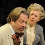 Roger Allam and Maggie Stead in Uncle Vanya © The Telegraph