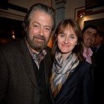 Roger Allam and Rebecca Saire attend the Press Night of Merrily We Roll Along at the Harold Pinter Theatre, 2013 © Bauer Griffin 2013