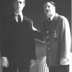 Alex Jennings as Albert Speer and Roger Allam as Hitler © Cambridge University Press