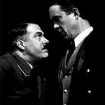 Roger Allam as Hitler and Alex Jennings as Albert Speer © National Theatre