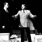 Alex Jennings as Albert Speer and Roger Allam as Hitler © National Theatre