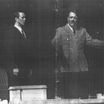 Alex Jennings and Roger Allam as Albert Speer and Hitler © National Theatre