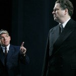 David Schofield as Friedrich Müller and Roger Allam as Max Reinhardt © Official London Theatre
