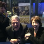 Ruby Wax, Roger Allam and Kathy Lette after the first performance of The Moderate Soprano, 2015 © Kathy Lette (@KathyLette on Twitter)