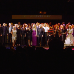 Past and current cast members at the Les Misérables 30th anniversary gala performance © Les Misérables