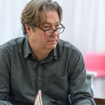 Roger Allam rehearsing the role of John Christie in The Moderate Soprano © Manuel Harlan / Hampstead Theatre