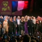 Singing 'One Day More' at the 30th anniversary of Les Misérables © Daniel Leal-Olivas