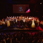 Past and present cast members at the Les Misérables 30th anniversary gala performance © Les Misérables