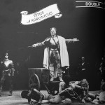 Patrick Stewart as Titus and Roger Allam as Demetrius (floor, right) © RSC 1981