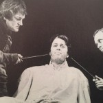 Sion Probert, Roger Allam and Brian Parr in Richard III © RSC 1984