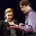 Gillian Anderson and Roger Allam in What the Night is For © Comedy Theatre (now Harold Pinter Theater)