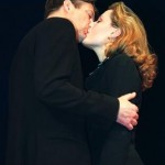 Roger Allam as Adam Penzius and Gillian Anderson as Melinda Metz © Comedy Theatre (now Harold Pinter Theatre)