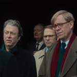 Deborah Findlay, Roger Allam and Alex Jennings in The Lady in the Van © BBC Films