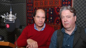 Michael Berkeley and Roger Allam on Private Passions ©BBC Radio 3, 2016