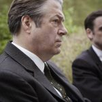 Jack Laskey and Roger Allam in Endeavour © ITV