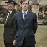 Shaun Evans and Roger Allam in Endeavour © ITV