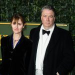 Rebecca Saire and Roger Allam at the Evening Standard Theatre Awards © Jeff Spicer 2015