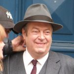 Roger Allam on the set of Endeavour series 4 © @Jodelle08, 2016