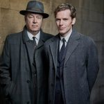 Shaun Evans and Roger Allam in Endeavour © ITV 2017